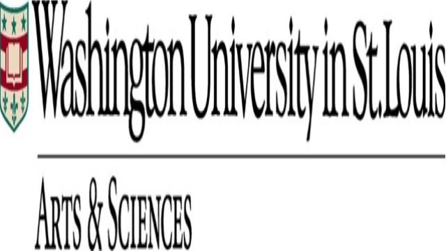 Washington University in St. Louis I Arts & Science logo