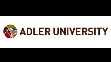 Adler University logo