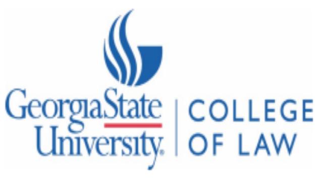 Georgia State University College of Law logo