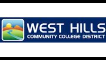 West Hills Community College  logo