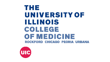 The University of Illinois at Chicago College of Medicine Rockford logo